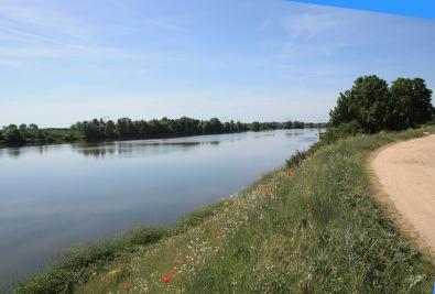 La Loire à Baule dans le Loiret en Val de Loire