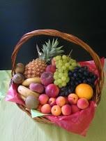 panier corbeille de fruits par les Jardins D'Olivier à Beaugency en Val de Loire dans le Loiret