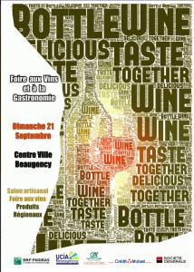 foire vins Beaugency en septembre : vins et produits du terroir du Val de Loire