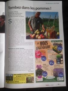 Pommes du Val de Loire sur TERRES DE LOIRE