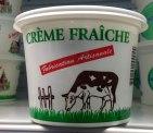 produits locaux du Val de Loire à Beaugency dans le Loiret, la crème fraîche Le Petit Trôo